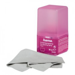 Hama Kit de nettoyage Ecran 50 ml + chiffon
