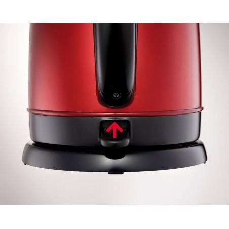 Bouilloire Moulinex Subito Inox rouge