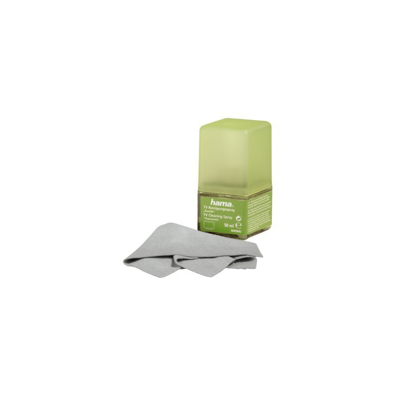 Hama Spray de nettoyage Ecran 50 ml + chiffon / Camomille