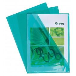 Chemise coin PVC Vert