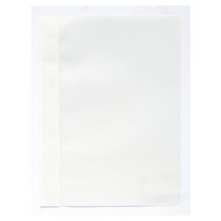 Chemise de présentation à lamelles - A4 / Blanc