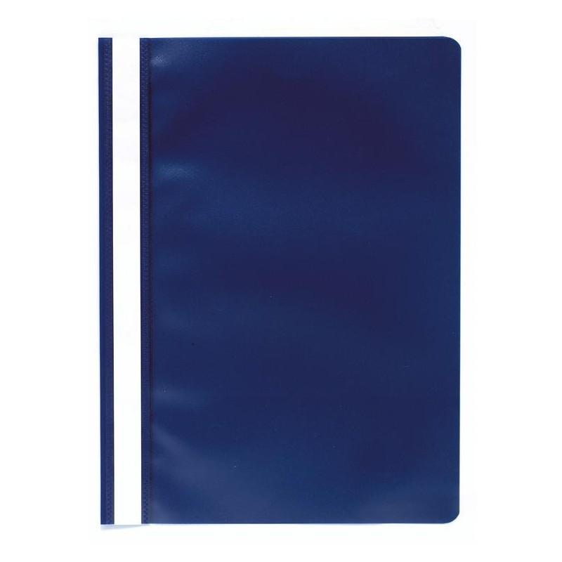25x Chemises de présentation à lamelles - A4 / Bleu
