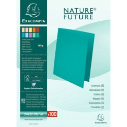 Paquet 100 chemises Nature Future JURA 160