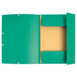 Chemise à élastique 3 rabats Nature Future - A4 / Vert