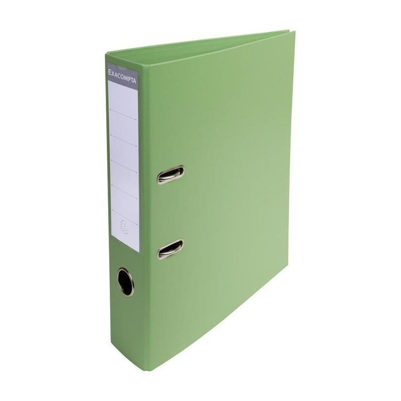 Classeur à levier PVC A4 dos de 70mm / Vert
