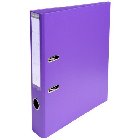 Classeur à levier PVC A4 dos de 50mm / Violet