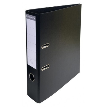 Classeur à levier PVC A4 dos de 70mm / Noir