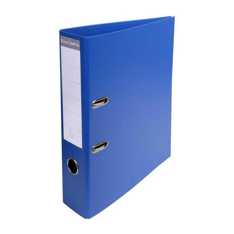 Classeur à levier PVC A4 dos de 70mm / Bleu
