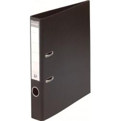 Classeur à levier PVC A4 dos de 50mm / Noir