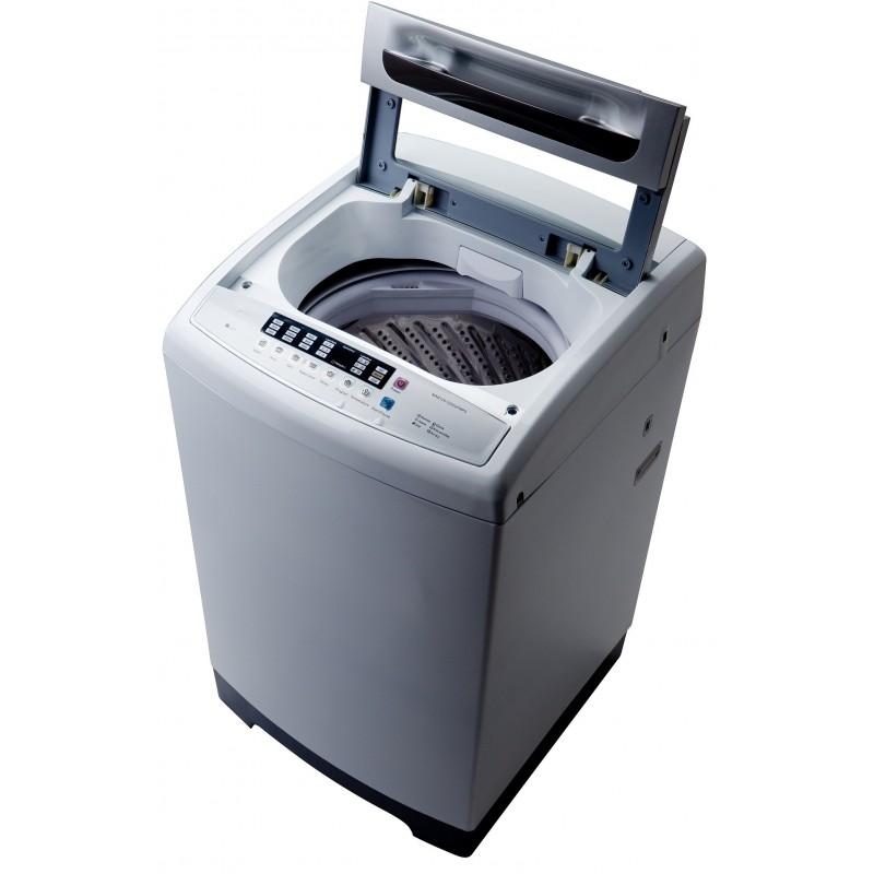 machine laver automatique top load midea 13 kg silver. Black Bedroom Furniture Sets. Home Design Ideas
