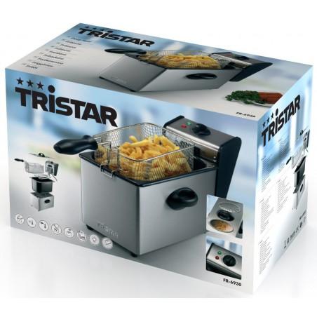 Friteuse Capacité 4L Corps inox Tristar FR-6930