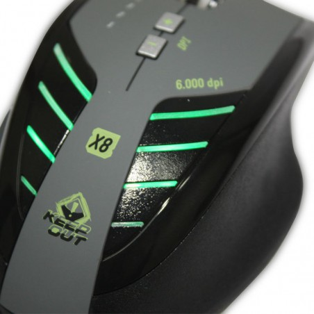 Souris Laser Gaming Keep Out X8