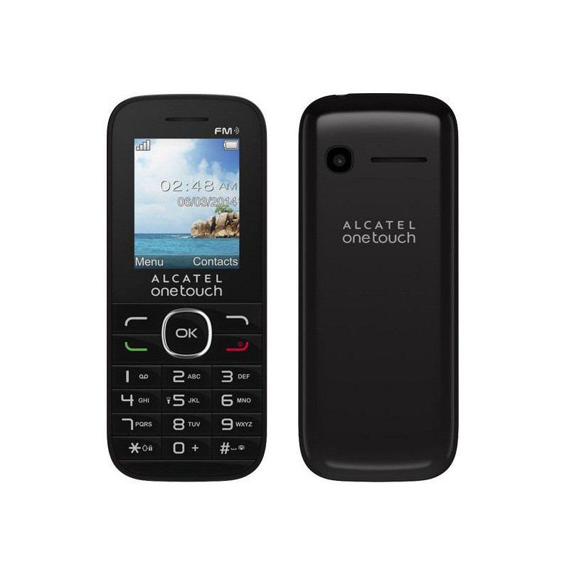 t l phone portable alcatel 1046d noir double sim. Black Bedroom Furniture Sets. Home Design Ideas