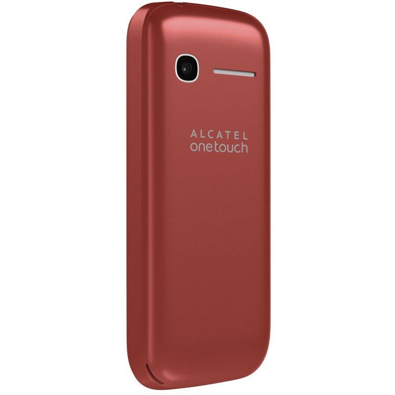 t l phone portable alcatel 1046d blanc rouge double sim. Black Bedroom Furniture Sets. Home Design Ideas
