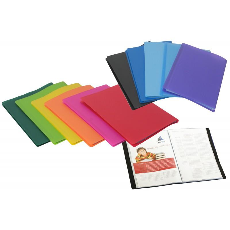 Porte documents polyclass A4 à 20 Pochettes