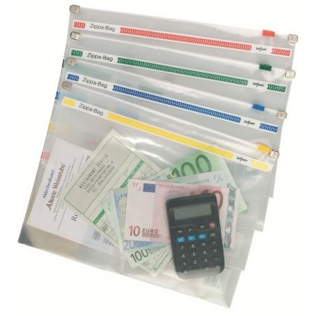 Porte documents Snopake Zippa BAG A5 / Transparent