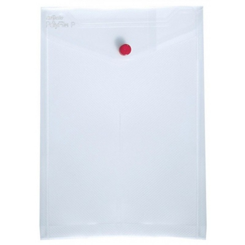 5x Pochettes de classement Snopake Polyfile P A4 Transparent