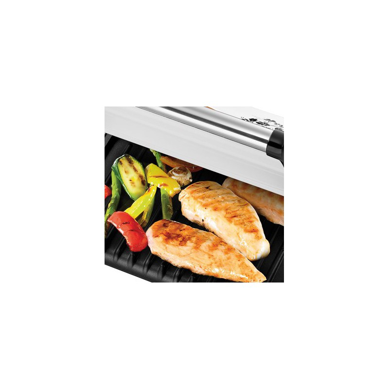 Grille viande cottage floral russell hobbs for Appareil cuisson convivial