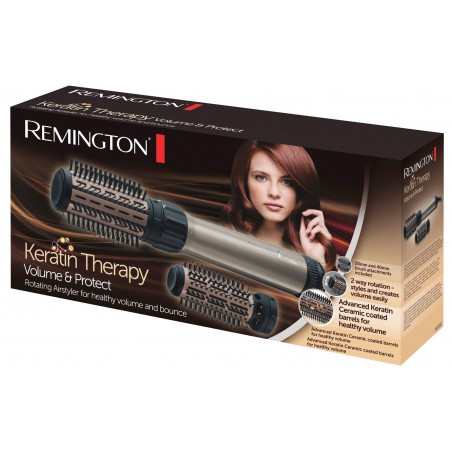 Brosse soufflante rotative Volume & Protect Keratin Therapy Remington AS8090