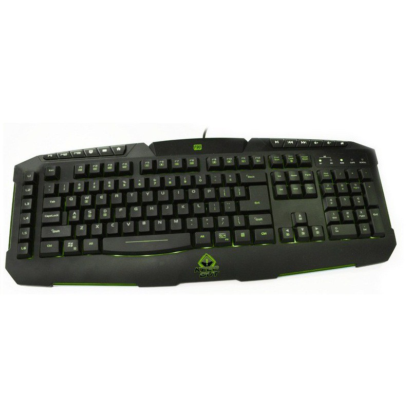 Clavier Gaming réctro-éclairé Keep Out F90E