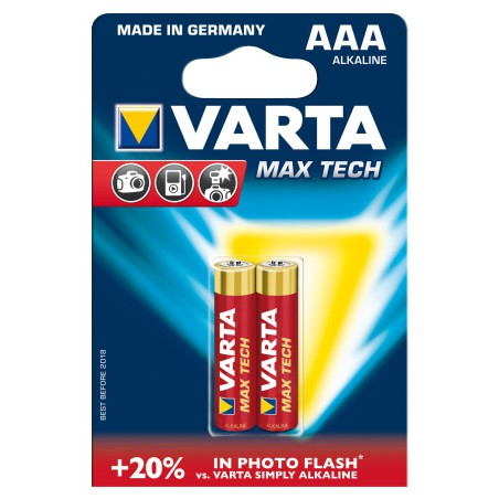 Pile Varta Max Tech LR03 BP2