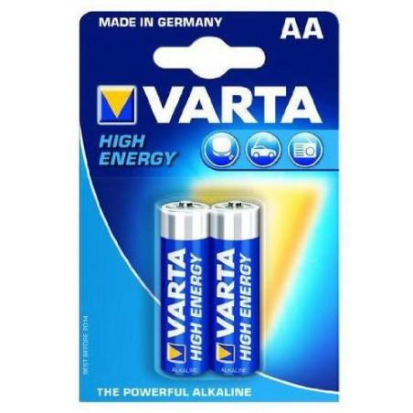 2x Piles AAA Varta High Energy LR6 BP2