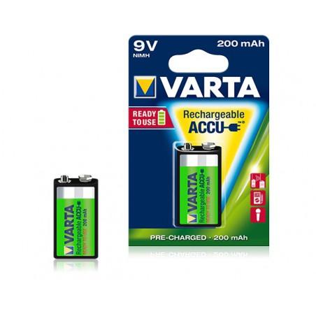 Pile Varta Rechargeable Accu 9V 200 mAh