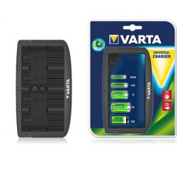 Chargeur Varta Universal pour Piles AA/AAA/C/D/9V