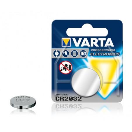 Pile électronique Varta CR2032 / 3V Lithium