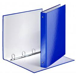 Classeur A4 à 4 anneaux 40mm / Bleu