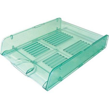 Corbeille à courrier ARDA - A4 / Vert Transparent