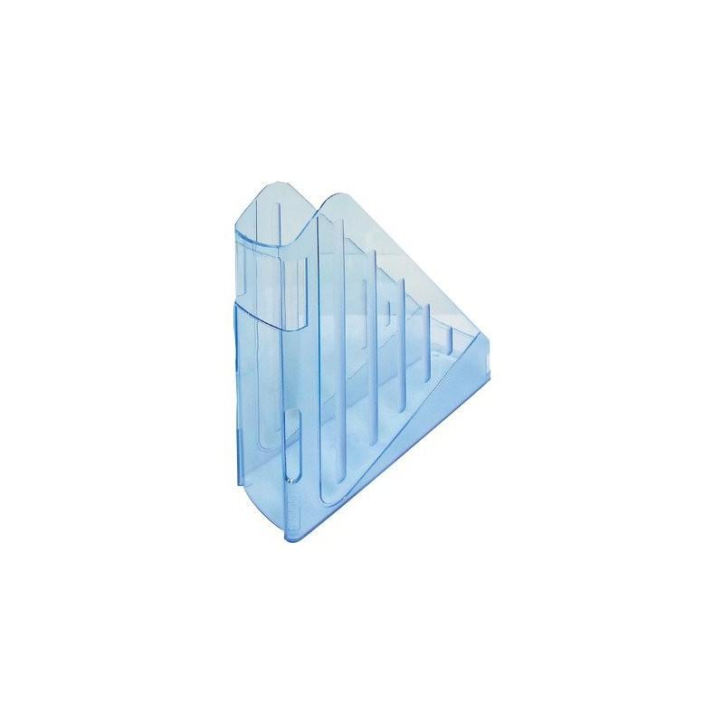 Porte Revue ARDA / Bleu Transparent