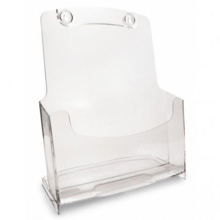 Porte Dépliants ARDA A4 / Cristal