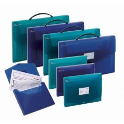 5x Box-office Snopake A3 / Bleu