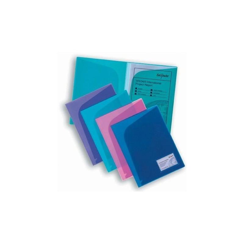Pochette de classement Snopake ActionFile A4 / Violet