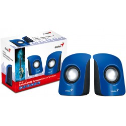 Haut parleur Genius SP-U115 / Bleu