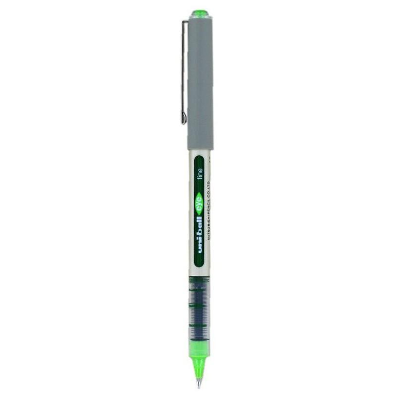Stylo Roller Uni-ball Eye / 0.7mm / Vert clair