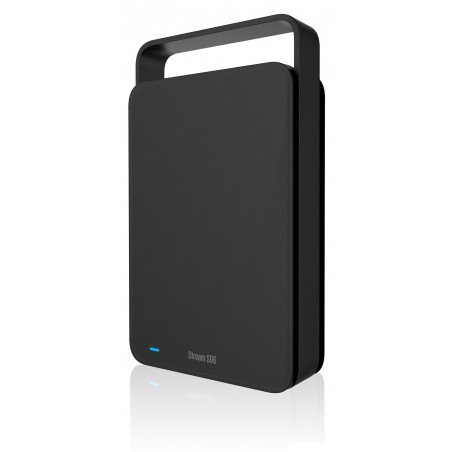 "Disque Dur Externe 3.5"" Silicon Power Stream S06 / USB 3.0 / 2 To / Noir"