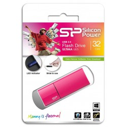 Clé USB Silicon Power Ultima U05 / 32 Go / Bleu