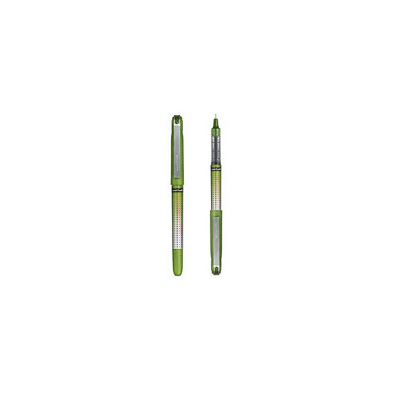 Stylo Roller Uni-ball Eye Needle / 0.5mm / Vert