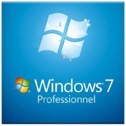 Microsoft Windows 7 Professionnel OEM 32 bits (français)
