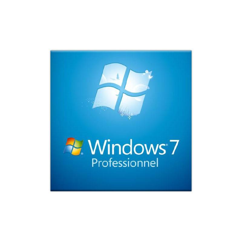 Microsoft Windows 7 Professionnel OEM 64 bits (anglais)