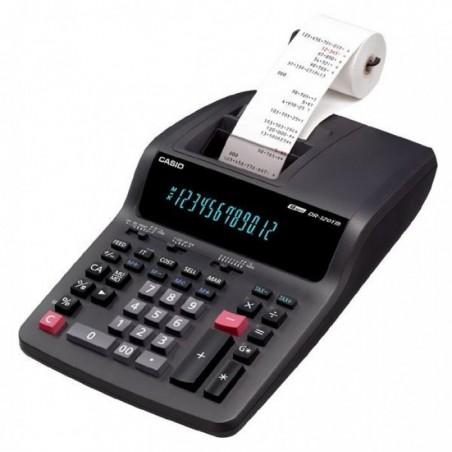 Machine à calculer Casio DR-120TM-BK
