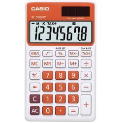Calculatrice Casio SL-300NC-RG / Orangé