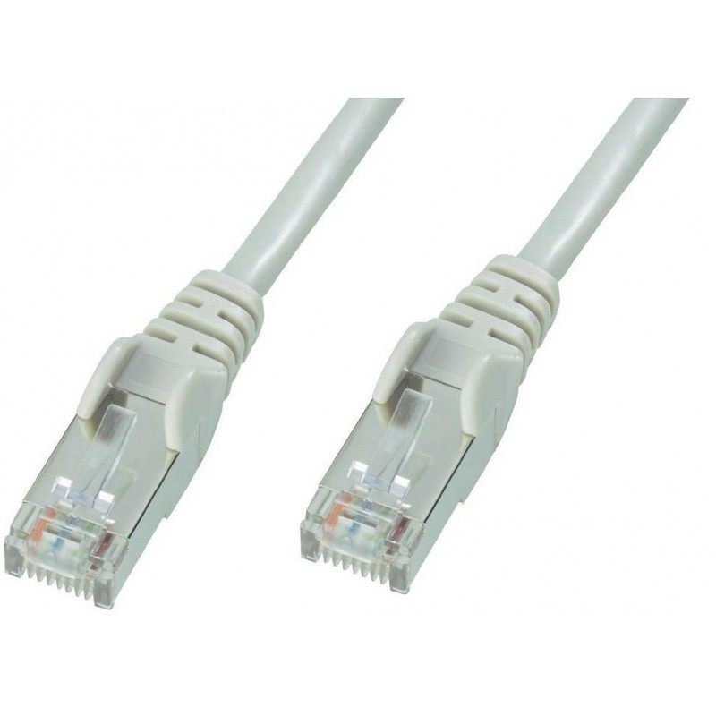 Câble RJ45 Cat5E FTP 0.5M Gris