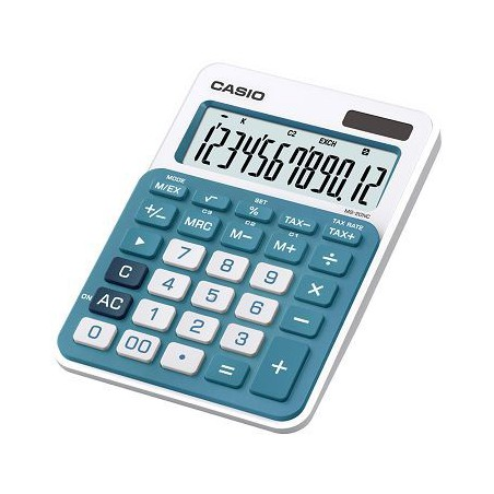 Calculatrice Casio MS-20NC-BU / Bleu