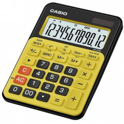 Calculatrice Casio MS-20NC-BYW / Jaune