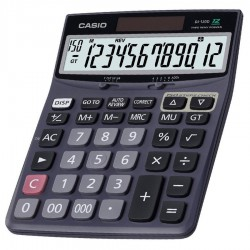 Calculatrice Casio DJ-120D / Noir