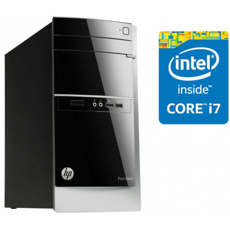 pc de bureau hp pavilion 500 435nk intel core i7 4790s processor. Black Bedroom Furniture Sets. Home Design Ideas