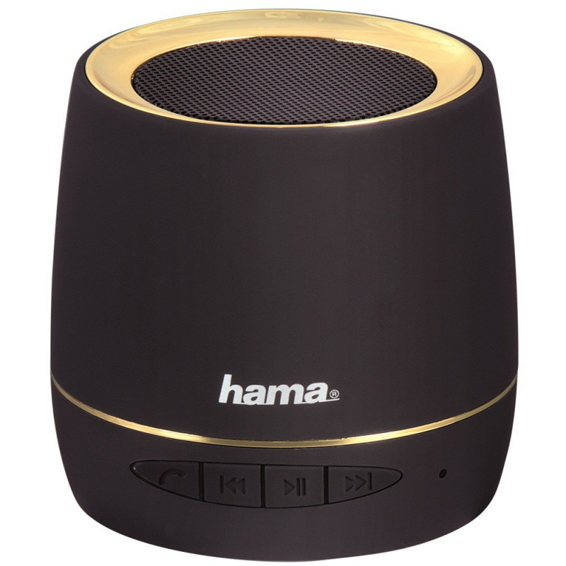 enceinte bluetooth portable hama noir. Black Bedroom Furniture Sets. Home Design Ideas